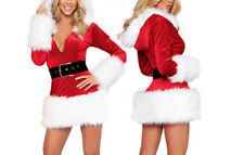 Vestito Donna Costume Babbo Natale Cosplay Hostess Christmas dresses HOS031 P