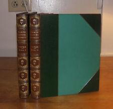 Dante Gabriel Rossetti. Poems. 2 vol. 1923. Cheyne Walk Edition. Fine Binding.