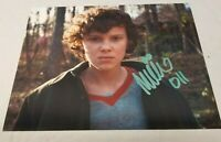 Millie Bobby Brow Stranger Things Eleven 11 SS Signed 8x10 photo autograph Movie
