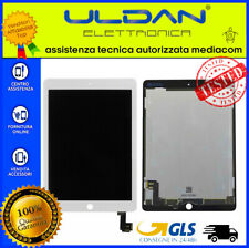 LCD DISPLAY PER Apple Ipad 6 Air 2 A1566 A1567 SCHERMO TOUCH SCREEN VETRO BIANCO
