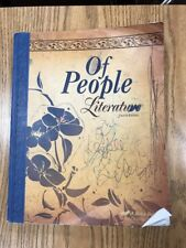 A Beka Of People Literature Student Text Fourth Edition Grade 7 Used Abeka