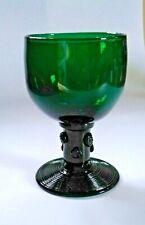 Antique 19thCentury? Dark Green Glass Dutch/German Wine/Beer Roemer Rough Pontil