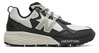 New Balance Women's Fresh Foam Crag v2 Shoes White with Black & Grey