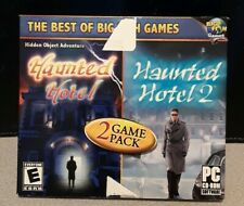 Haunted Hotel & Haunted Hotel 2: 2 game pack (PC CD-Rom, 2010)