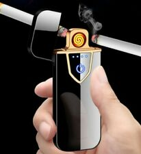 ARC Rechargeable Windproof Flameless Electronic Cigarette Metal Lighter USB AU