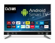 """CELLO PLATINUM 43"""" SMART LED TV ANDROID APP's FREEVIEW HD USB HDMI HD 1080P"""