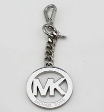 NEW TOP Letter M@@K Logos Hang Tag Fob Charm Key Chain AUTHENTIC Silver colors