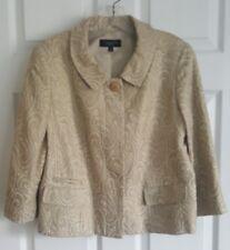 NWOT Sz 10 TALBOTS Jacquard Button Front Blazer / Jacket, Fully Lined