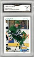1990-91 Upper Deck #534 Bobby Holik YG RC | Graded Gem Mint 10