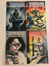 THE TERMINATOR: SECONDARY OBJECTIVE (1991) 1 2 3 & 4 COMPLETE LIMITED SERIES