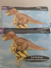 DINOSAUR PARTY 101 cm RAPTOR super shape ANAGRAM FOIL BALLOON