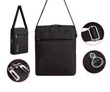 Black Nylon Shoulder Bag Case for iPad Pro 9.7 / Samsung Galaxy Tab A 10.1 / S2