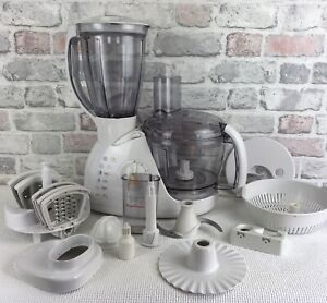 Moulinex Ovatio 3 Duo Press Food Processor Lots Of Accessories Working Order