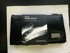 Eye Obsessed 12 Piece Eye Brush Collection & Bag New