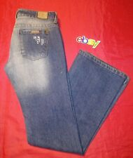 HINT bootcut FLARE Destroyed Distressed METAL STUDDED SZ 3 women Jeans 29x33 EUC