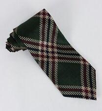 Chez Roffe Green Beige Red Black Silk Mens Neck Tie