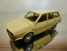 ELYSEE 573 RENAULT 12 BREAK 1973 - CREAM 1:43 - EXCELLENT CONDITION - 12