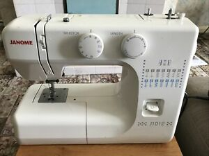 Janome J1012 Sewing Machine PAT Tested But Otherwise Untested
