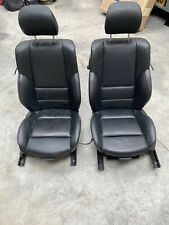 BMW E46 330CI COUPE BLACK LEATHER SPORT FRONT ELECTRIC SEATS