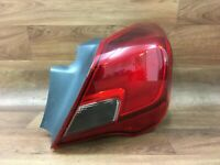 Vauxhall Corsa E 2015 Driver Side RH rear tail light lens assembly 13428456