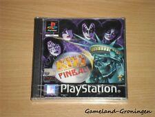 PlayStation / PS1 Game: Kiss Pinball (NEW/SEALED)
