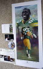 GREEN BAY PACKERS DONALD DRIVER SIGNED Driven GORALSKI Lithograph LE #3 DVD COA
