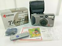 Kyocera Yashica Carl Zeiss T4 Point&Shoot 35mm Film Zoom Camera NEW Open Box