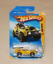 2010 Hot Wheels New Models 21 of 44 Card #021 Sting Rod II Yellow