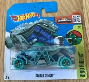 Hot Wheels 2016 - Double Demon - Short Card - New In Box