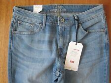 Levis Womens Demi Curve Classic Slim Leg Blue Denim Jeans W29 L34 NEW FREE POST