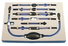 Professional Workshop Diesel Engine Fuel Primer Priming Bleeding Tool Set + Foam