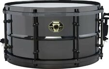 """Ludwig drums Black Magic 7"""" x 13"""" Black Nickel over Brass shell snare LW0713 NEW"""