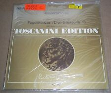 Toscanini MOZART Bassoon Concerto, Divertimento No.15 - RCA AT 141 SEALED
