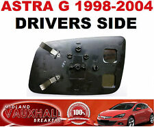 VAUXHALL ASTRA G MK4 1998-04 MANUAL DOOR WING MIRROR GLASS DRIVERS OFF SIDE CLUB