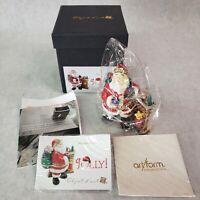 Jolly Holiday Jeweled - Objet D'Art #531 TRINKET BOX - NIB