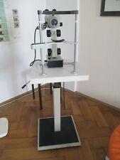 Irisdiagnose Irismikroskop Augendiagnose Nikon, mit Hubtisch