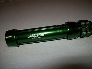 ALPS centra-lock GREEN  CAH16M aluminum reel seat for rod building