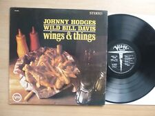 Johnny Hodges & Wild Bill Davis ‎– Wings & Things  USA 1965 LP Vinyl  vg++   #1