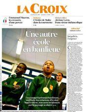 La  CROIX 19.01.2017 n°40701*école en BANLIEUE*ORDRE de MALTE tourmenté*E.Macron