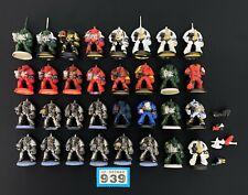 Warhammer 40,000 40K Marines Espaciales Space Hulk Primera Edición TERMINADORES X 32