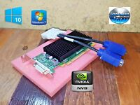 Dell OptiPlex 3010 3020 3040 3046 3050 NVIDIA SFF Dual VGA Monitor Video Card