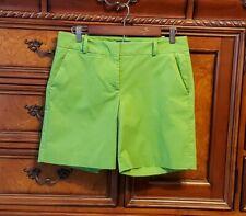 "TALBOTS Spring green Chino 7"" shorts size 4"