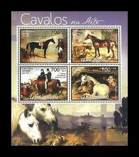 Guinea Bissau 2012 Stamp, GB1238A Horse Cavalos,Edwin Henry Landseer,S/S