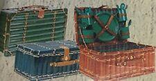 cestino valigia cesto picnic colazione spiaggia campagna merenda scuola