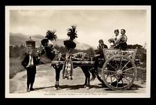 PALERMO carretto siciliano e costume di piana dei greci