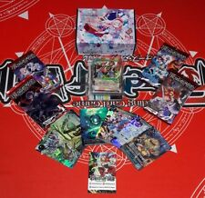 FOW FORCE OF WILL BUNDLE 2 DECK + PACKS + PROMO CARDS ITA