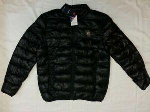 $100 MLS LAFC LA Football Club Fanatics Black Puffer Puffy Jacket Mens XL L NWT