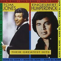 TOM JONES & ENGELBERT HUMPERDINCK - THEIR GREATEST HITS CD ~ AND BEST OF *NEW*