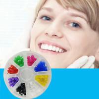 Dental / Hygienist Instrument Silicone Color Code Rings 160 Pcs Autocl NBQ