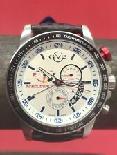 Gevril GV2 Scuderia Limited Edition Swiss Quartz GMT 500 Pieces 45mm Steel